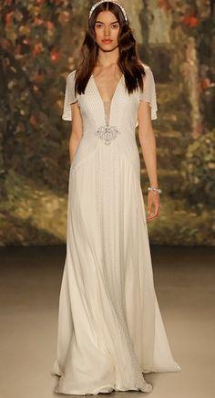 Jenny Packham elbise tarzı salaş gelinlik modeli