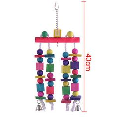 Cockatiel Large Parrot Cage Toys Hunging Pendant Bell TOY FOR Birds | eBay