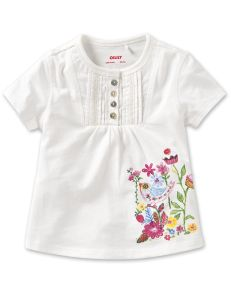 Oilily Spring 2012  - Tova White with Flowers Tee
