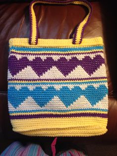 Double heart tote