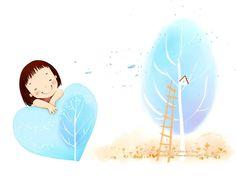 Lovely illustrateur pour enfants wallpaper Jour #5
