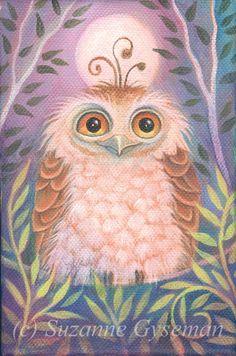 'Happy Owl' by Suzanne Gyseman