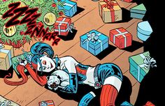 """"""" ♦ Harley Quinn Holiday Special #1 - Page Details """""""