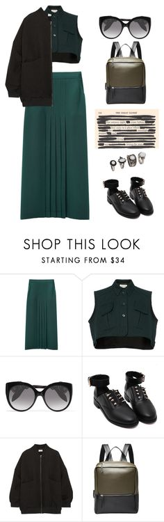 """""""Untitled #2138"""" by lbenigni ❤ liked on Polyvore featuring Apiece Apart, Carven, Alexander McQueen and Studio Nicholson"""