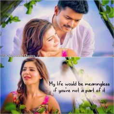 It's true baby ♥️ Love Marriage Quotes, Love Failure Quotes, Movie Love Quotes, Famous Love Quotes, Favorite Movie Quotes, True Love Quotes, Romantic Love Quotes, Tamil Love Poems, Bollywood Love Quotes