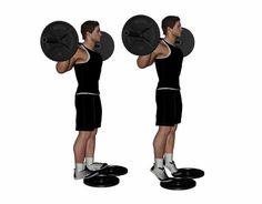 Learn how to perform standing barbell calf raise with perfect technique. Find out standing barbell calf raise key points to remember. Calf Exercises, Free Weights, Calf Raises, My Struggle, Barbell, Calves, Bodybuilding, Weight Loss, Fitness