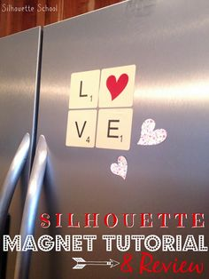 Silhouette Magnets Tutorial & Review #Silhouette #Silhouetteideas #silhouetteprojects #silhouettecameo #silhouettetutorials #Magnets