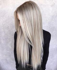 - All For Hair Color Trending Blonde Hair Looks, Brown Blonde Hair, Platinum Blonde Hair, Balayage Blond, Blonde Hair With Highlights, Hair Foils, Honey Hair, Dyed Hair, Hair Inspiration