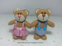 Casal de ursinhos !!!