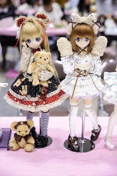 Two Best Friends, Kawaii, Anime Dolls, New Dolls, Anime Figures, Cute Dolls, Ball Jointed Dolls, Beautiful Dolls, Blythe Dolls