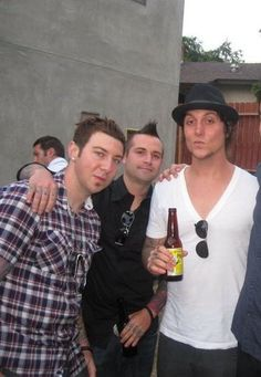 Zacky Vengeance, Johnny Christ and Synyster Gates