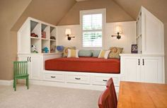 Attic Bedroom Lighting Ideas | Ideas For Cool Attic Bedroom Design For Kids  That Are Warmth