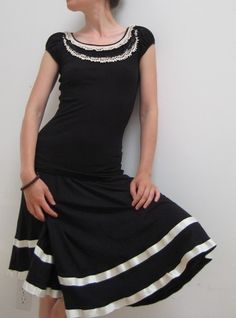 34c664327bfa4 Vintage Gowns, Black Tops, Crochet Lace, Get Dressed,