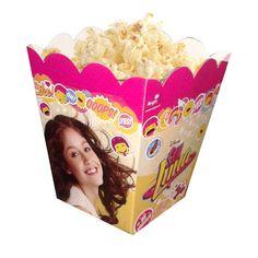 Caja Popcorn Cumpleaños Soy Luna Cotillon Fiestaclub - $ 2.590 en MercadoLibre