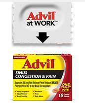 Great new Sinus Congestion and Pain Medication from Advil!!