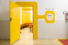 Office Interior Design, Office Interiors, Door Design, Wall Design, Creative Office Space, Kindergarten Design, Environmental Graphic Design, Hospital Design, Clinic Design