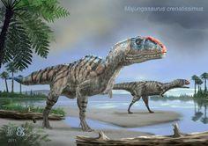 Majungasaurus by Earthling
