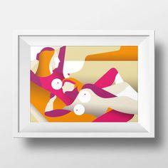 Infinity. Illustration art print by Simone Perin by SimonePerinArt