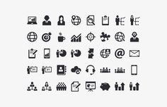 Medialoot - Business Vector Icon Set