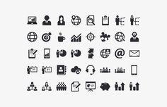 Medialoot - Business Vector Icon Set