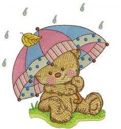 Teddy's rainy day