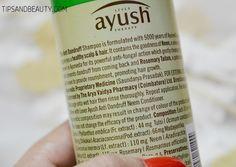 Ayush anti dandruff neem shampoo 3