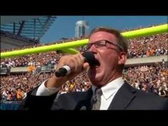 GET THE BATHTOWEL. YOU WILL BE BLUBBERING. GOD BLESS AMERICA AND SHED HIS GRACE ON THEE. Why Being American Is Awesome: Jim Cornelison's National Anthem on 9-11-11