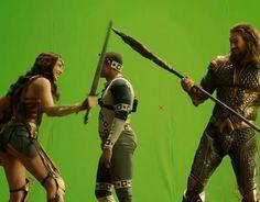 Ray Fisher, Chroma Key, Aquaman, Gal Gadot, Deadpool, Behind The Scenes, Wonder Woman, Actors, Superhero