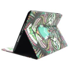 For+iPad+Air/iPad+5+Tiger+Smart+Cover+Leather+case+with+Holder,+Card+Slots+&+Wallet