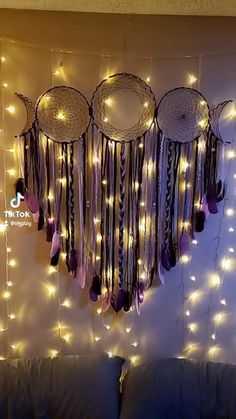 Dream Catcher Decor, Dream Catcher Boho, Diy Sewing Projects, Cool Diy Projects, Nursery Room Decor, Diy Room Decor, String Crafts, Paper Crafts, Flat Organization