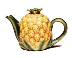 Vintage and Retro - Pineapple Teapot, $50.00 (http://www.vintageandretro.com.au/pineapple-teapot/)