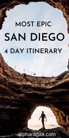The most epic San Diego 4 day itinerary includes the best things to do in San Diego on a long weekend | San Diego Itinerary|San Diego things to do |san diego hikes|San diego beaches|Things to do in San Diego with kids |Sand Diego travel|San Diego photo spots |free things to do in San Diego |California|fall in san diego |san diego day trips #sandiego #california #travel #usa #sandiegocalifornia San Diego Day Trip, San Diego Hiking, San Diego Vacation, San Diego Travel, San Diego Beach, San Diego Zoo, Free Things, Things To Do, Places To Travel