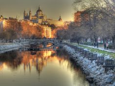 Madrid. Spain. I know could live there, truly.