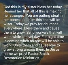 Sister Prayer, Prayers For Sister, My Sister, Blessed, Sisters, God, Dios, Praise God, Daughters