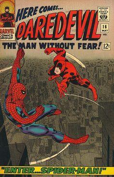Daredevil # 16 by John Romita & Frank Giacoia