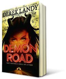 Demon Road by Derek Landy in the Kids' Book Club at Eason