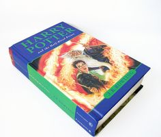 Hollow Book Safe Harry Potter Half Blood Prince by retrograndma (Home & Living, Office, Office & Desk Storage, hollow book, security safe, desk organizer, retro home decor, geekery for office, hollow book safe, jewelry box, ipod touch case, iphone case, harry potter book, secret storage box, keepsake container, hollowed out book)