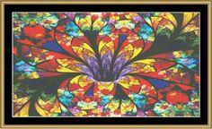 Fractal Unlimited 210 [FUKG-210] - $16.00 : Mystic Stitch Inc, The fine art of counted cross stitch patterns