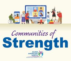 May 2021: Recognizing Older People as Strong and Vibrant (Older Americans Month 2021) People Talk, Good People, King County, Common Phrases, Old Person, Lip Service, Strong Relationship, Finding Joy, Inspire Others
