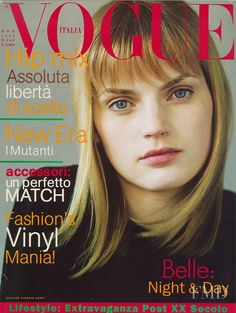 Covers of Vogue Italy with Guinevere van Seenus, 000 1995 | Magazines | The FMD #lovefmd