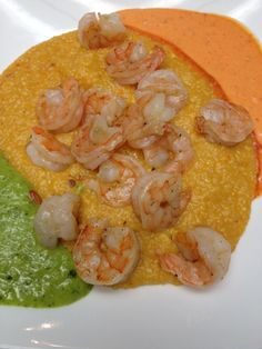 Heaven And Hell Shrimp And Sweet Potato Chipotle Grits