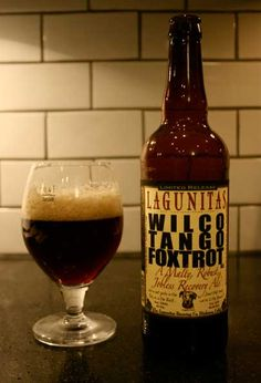 Lagunitas Wilco Tango Foxtrot - A Malty, Robust Jobless Recovery Ale: American Brown Ale that's extremely hoppy for the style. Tasty.