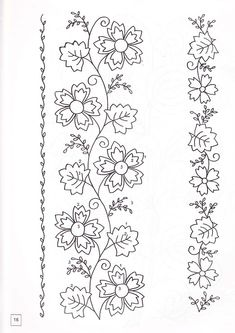 Pillow Embroidery, Hand Embroidery Dress, Border Embroidery, Hand Embroidery Videos, Embroidery Fashion, Embroidery Art, Embroidery Stitches, Hand Embroidery Patterns Flowers, Hand Embroidery Designs