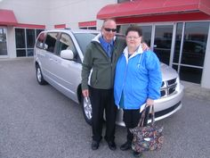 Cathy from Louisburg NC now has room for the entire family with her 2011 Dodge Grand Caravan. We hope you enjoy it for years to come. Thank you Cathy for your business. Her salesman is Barry Menta