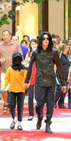 Michael & Paris | Michael and his children, your greatest treasures ღ