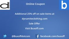 Latest dynamite-clothing Coupon on Buxoff Visit to know more