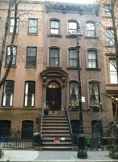 Carrie's House, Sex & the City Tour, New York City  My future home for sure!<3