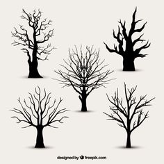 New Tree Silhouette Vector Tattoo Ideas 34 Ideas Cartoon Silhouette, Tree Silhouette, Silhouette Vector, Vector Trees, Vector Art, Art Et Nature, Tree Illustration, Tree Patterns, Tree Designs