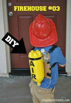 DIY Fireman Air Tank & Pretend Play by Crayon Box Chronicles