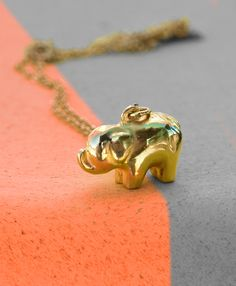 $54 - Elephant pendant that saves an ACRE of rainforest!